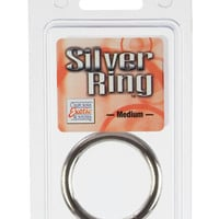 Metal Ring Medium - Silver