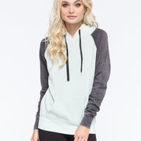 FULL TILT Essential Colorblock Womens Pullover Hoodie | Girl In Motion