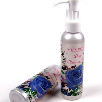Makeup Remover Oil Deep Cleansing Professional Clean Eyes Lips Natural Mild Purify Moisturizing Face Makeup Miss Rose