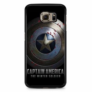 Captain America Winter Soldier Shield Samsung Galaxy S6 Case