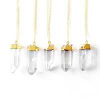 BULK DEAL - Quartz & Gold - trunk show overstock