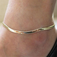 New Fashion Accessories Women's Chain Silver/Gold Ankle Bracelet Anklet