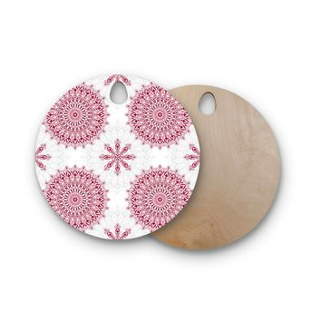 Julia Grifol Birchwood Mandala Cutting Board