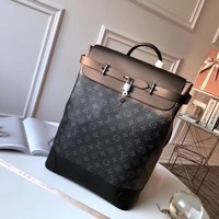 Kuyou Lv Louis Vuitton Fashion Women Men Gb29610 M44052 Monogram Eclipse Canvas Travel All Collections Steamer 32 X 45 X 16cm