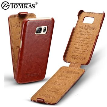Flip Leather Case For Samsung Galaxy