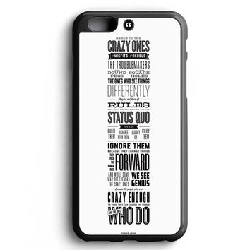 Custom Case Here's To The Crazy Ones for iPhone Case & Samsung Case