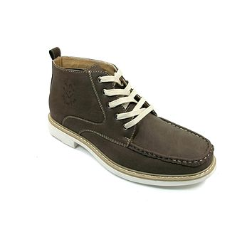 Men's Polar Fox Ankle High Lace Up Casual Boot 506011 Brown-207