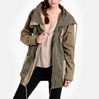 Cry Tough Duffle Cargo Jacket By One Teaspoon