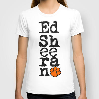 vert ed sheeran t shirt by dan ron eli from society6 my. Black Bedroom Furniture Sets. Home Design Ideas
