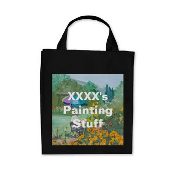 XXXX's Painting Stuff Tote Bag