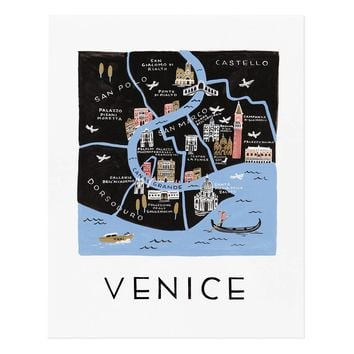 Venice Art Print by RIFLE PAPER Co. | Made in USA