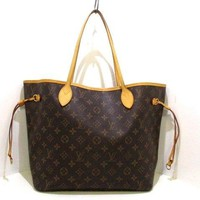 Auth LOUIS VUITTON Neverfull MM M40156 Monogram Canvas SD3057 Tote Bag
