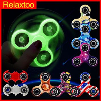 Batman Luminous Fidget Spinner Glow in Dark Light