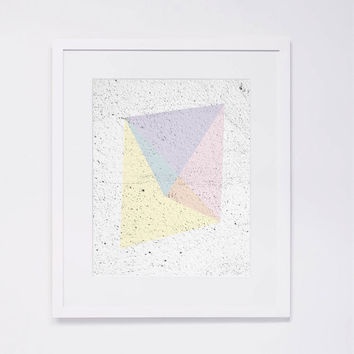 Pastel Abstract Art Print 3