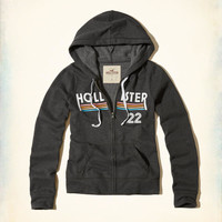 Girls Printed Logo Graphic Hoodie | Girls Tops | HollisterCo.com