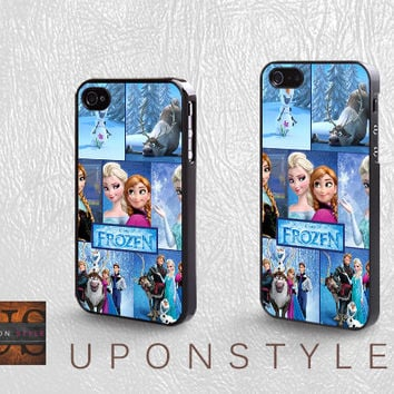 Disney frozen, Phone Cases, iPhone 5 Case, iPhone 5s Case, iPhone 4 Case, iPhone 4s case, Case for iphone, Case No-1034