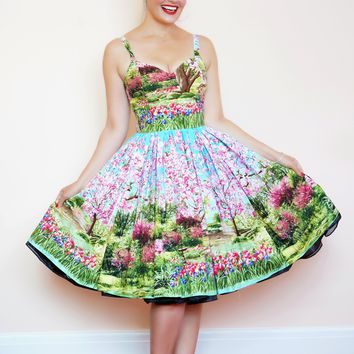 Georgia Dress in Cherry Tree Lane
