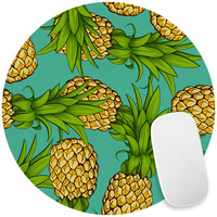Crazy Pineapples Mouse Pad Decal