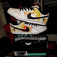 Nike DUNK LOW SB Casual Suspension Low-Top Canvas Sneakers Shoes