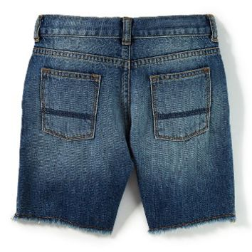 Peek Fairfax Deconstructed Denim Shorts (Toddler Boys, Little Boys & Big Boys) | Nordstrom
