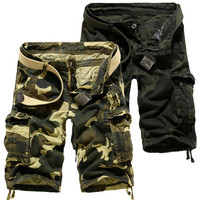 Relaxed FIt Camouflage Men's Cargo Shorts