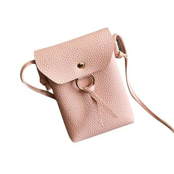 Backpack Bolsa Travel 2017 Hot new Fashion Women Leather  Crossbody Shoulder Bag Messenger Phone Co drop shipping 17jun23
