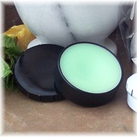 Cool Mint Lip Balm in click tin | Soapsmith - Bath & Beauty on ArtFire