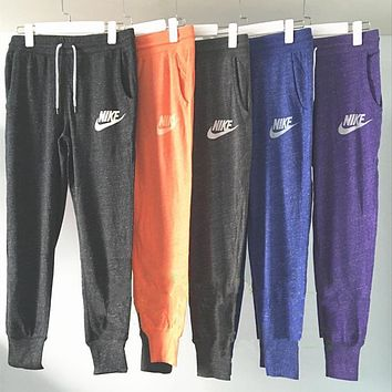 nike women fashion gym yoga running sweatpants 5 color