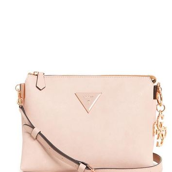 Jade Color-Block Petite Crossbody at Guess