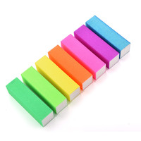 5 Pcs Buffing Sanding Buffer Block Acrylic Pedicure Manicure Nail Art Tips
