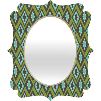 Heather Dutton Diamant Quatrefoil Mirror