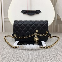 New Designer CHANE Double C SIZE 19×12×5 cm Women Leather silver and gold on Chain cross body bag Chane vintage Chanl jumbo Fashion Handbag Neverfull Tote Shoulder Bag Wallet Messenger CC Bags