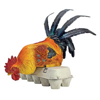 Park Avenue Collection Rooster Shelf Sitter