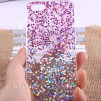 Glitter, Real glitter iphone 6 case, iphone 6 plus, Phone cover, iPhone5s case,iPhone 5c case, samsung Galaxy S5 case, Note3 case,note2- 447