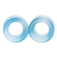 Arctic Blue Cat's Eye Glass Tunnels Plugs (3mm-20mm)