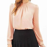 Elegant Blouses Long Sleeve For Work And Evening