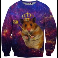 ☮♡ King Hamster Sweater ✞☆