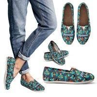 Veterinarian Pattern Casual Shoes