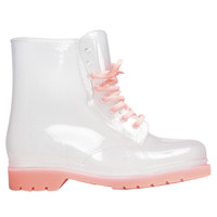 Clear Combat Rain Boot | Shop Shoes at Wet Seal