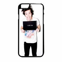 Harry Styles Love You One Direction iPhone 6 Plus Case