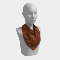 Just a Pattern - Scarf, Scarves, Fashion Accessory, Fashion Accent, Square Scarf, Accessorize