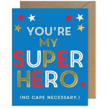 My Superhero Card