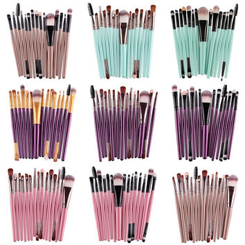 Cosmetic Makeup Brush Foundation Eyeshadow Eyeliner Lip Brand Make Up Pincel Maquiagem Eye Brushes Set