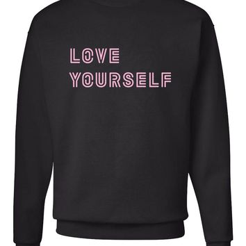 "BTS ""Love Yourself"" Crew Neck Sweatshirt"