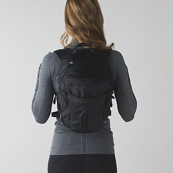 run all day pack *fibre optic | women's bags | lululemon athletica