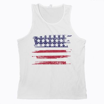 Mens 4th of July Tanks Independence Day Tank for Men