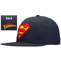 Superman - Classic Shield Snap Back Cap (Color: Dark blue) = 1946833412