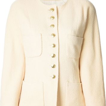 Chanel Vintage round neck jacket