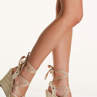 Make Your Way Espadrille Wedges