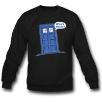 tardis SWEATSHIRT CREWNECKS